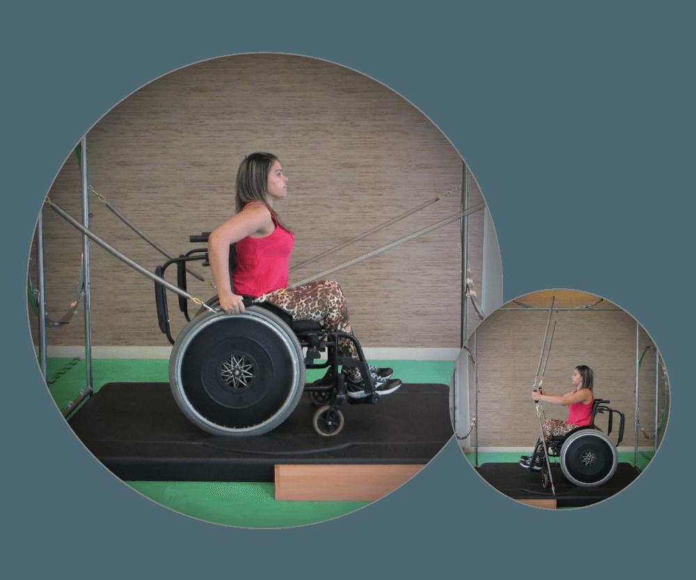 Arcus - uso por cadeirante