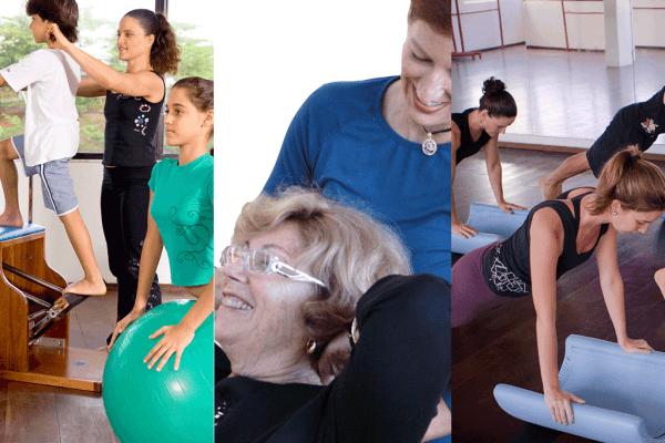 benefícios de pilates para todas as idades