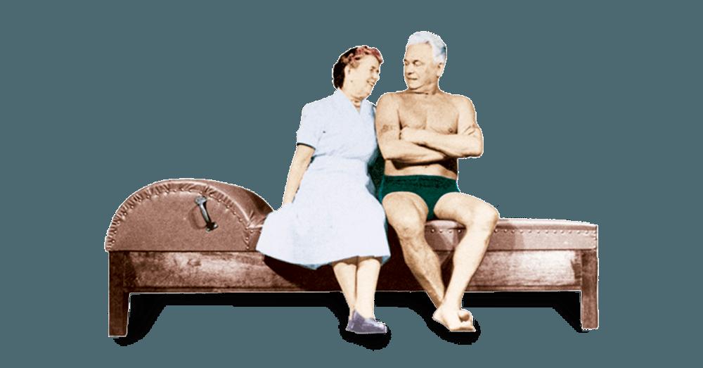 Joseph Pilates e Clara Pilates