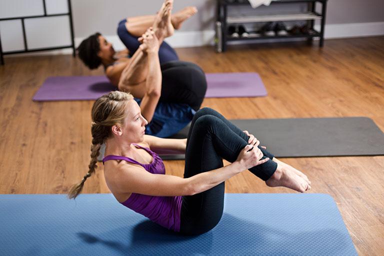 Exercícios para fazer Pilates online
