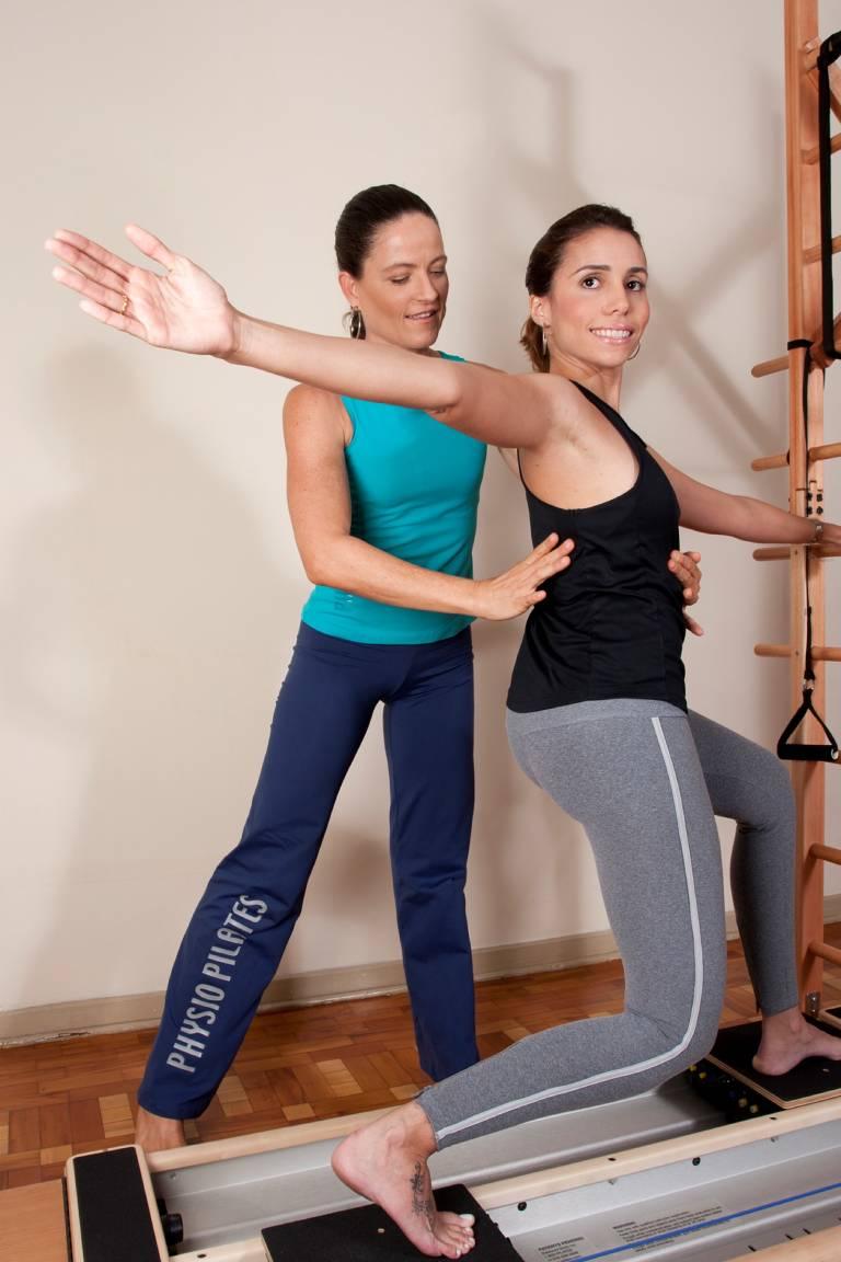 Pilates auxilia na reabilitação