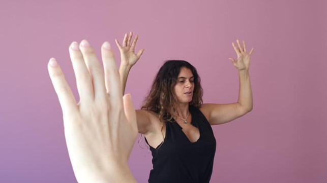 Roberta Quinn é master trainer de Gyrotonic Terapêutico