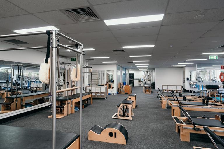 Como escolher aparelhos de pilates para seu estúdio