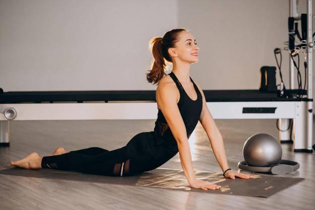 Alongamento pilates