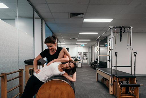 Professora de pilates