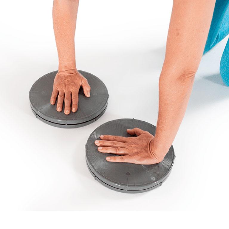 Acessórios para Pilates: Disco de rotação com resistência