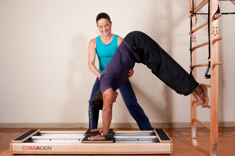 Condicionamento físico com o Pilates
