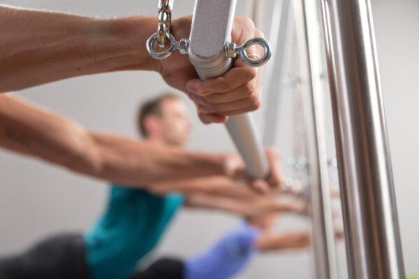Comando verbal para turma pilates