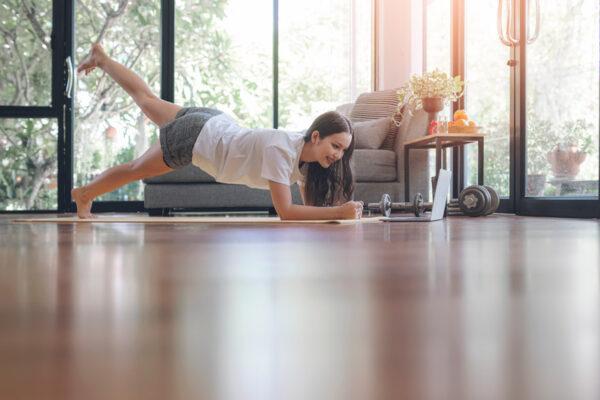 Vantagens da aula online de Pilates