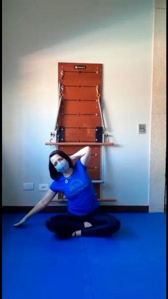 movimento de pilates